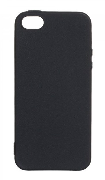 Чехол - накладка для iPhone 5 / 5S / SE силикон Black