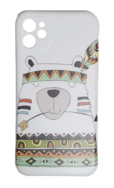 Чехол - накладка для iPhone 11 силикон Animals - Bear