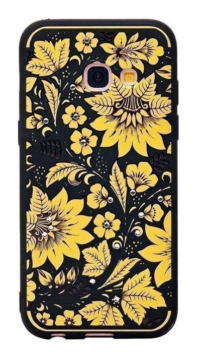 Чехол - накладка для Samsung A3 (2017) силикон NXE Autumn series №2
