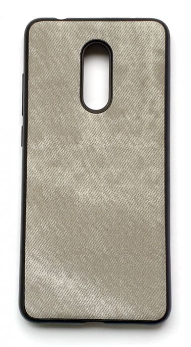 Чехол - накладка для Xiaomi Redmi 5 силикон Rag Grey