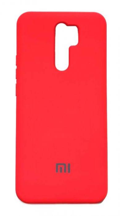 Чехол - накладка для Xiaomi Redmi 9 Silicone Cover Red