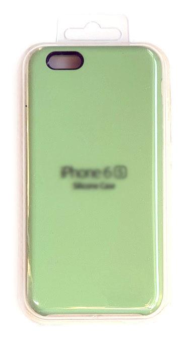 Чехол - накладка для iPhone 6 / 6S Silicone Case Green