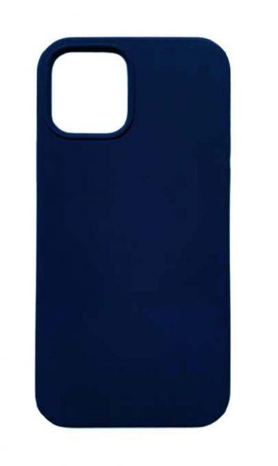 Чехол - накладка для iPhone 12 / 12 Pro силикон Activ Full Dark Blue