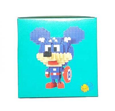 Конструктор Puzzle Toys - Captain America Mouse (550 деталей)
