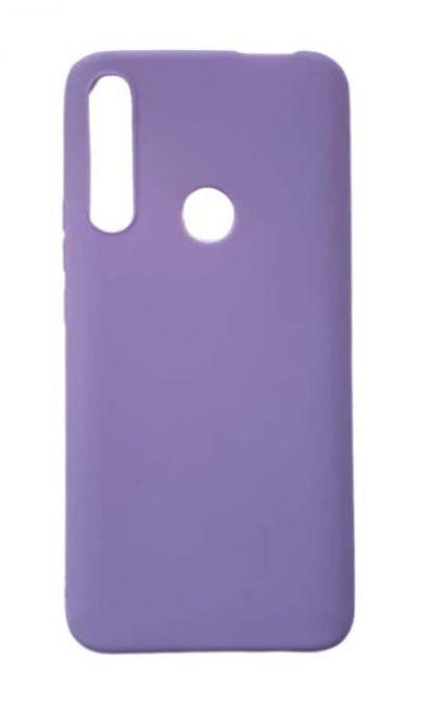 Чехол - накладка для Honor 9X силикон Dark Violet