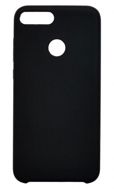 Чехол - накладка для Honor 9 Lite силикон Silicone Cover Black