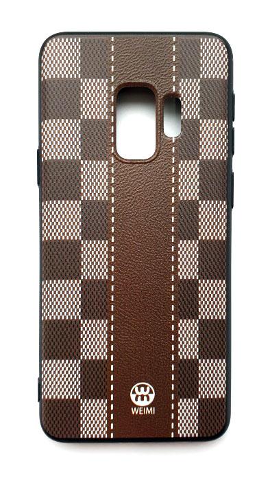 Чехол - накладка для Samsung S9 силикон Fashion Brown