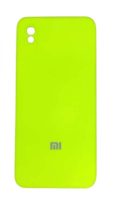 Чехол - накладка для Xiaomi Redmi 9A силикон Party Green org