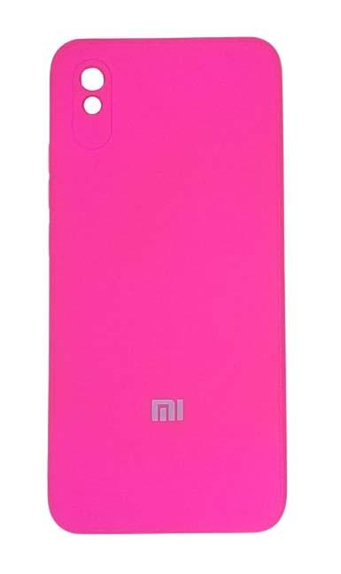 Чехол - накладка для Xiaomi Redmi 9A силикон Dark Pink org