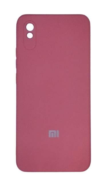Чехол - накладка для Xiaomi Redmi 9A силикон Magenta org