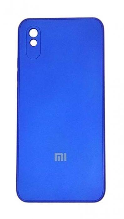 Чехол - накладка для Xiaomi Redmi 9A силикон Party Blue org
