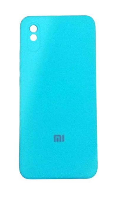 Чехол - накладка для Xiaomi Redmi 9A силикон Turquoise org