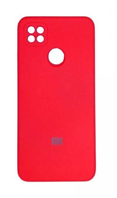 Чехол - накладка для Xiaomi Redmi 9C силикон Red org