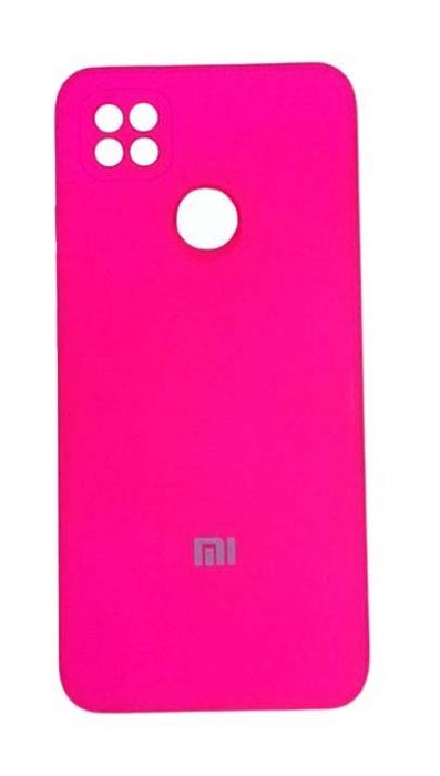Чехол - накладка для Xiaomi Redmi 9C силикон Dark Pink org