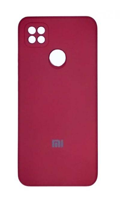 Чехол - накладка для Xiaomi Redmi 9C силикон Magenta org