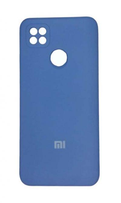 Чехол - накладка для Xiaomi Redmi 9C силикон Dark Blue org