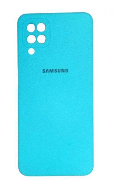 Чехол - накладка для Samsung A12 / M12 силикон Turquoise org