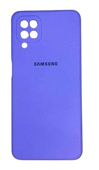 Чехол - накладка для Samsung A12 / M12 силикон Violet org