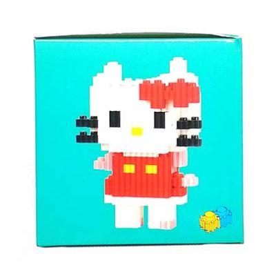 Конструктор Puzzle Toys - Hello Kitty pink (434 деталей)
