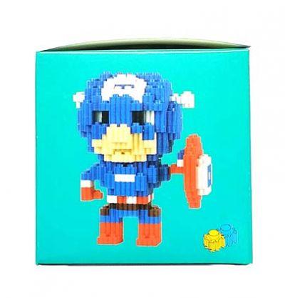 Конструктор Puzzle Toys - Captain America (610 деталей)