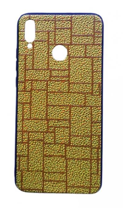 Чехол - накладка для Honor 8X пластик Brick Gold