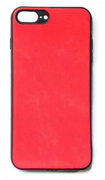 Чехол - накладка для iPhone 7 / 8 Plus силикон Rag Red