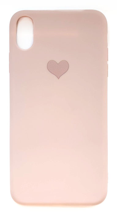 Чехол - накладка для iPhone X / XS Max силикон Purple Heart
