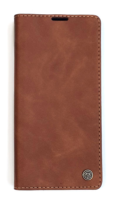 Чехол - книжка для Samsung S20 полиуретан CaseMe Brown
