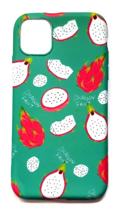 Чехол - накладка для iPhone 11 Pro силикон Dragon Fruit