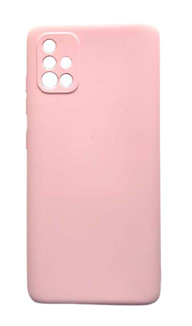 Чехол - накладка для Samsung A51 силикон Activ Full Light Pink