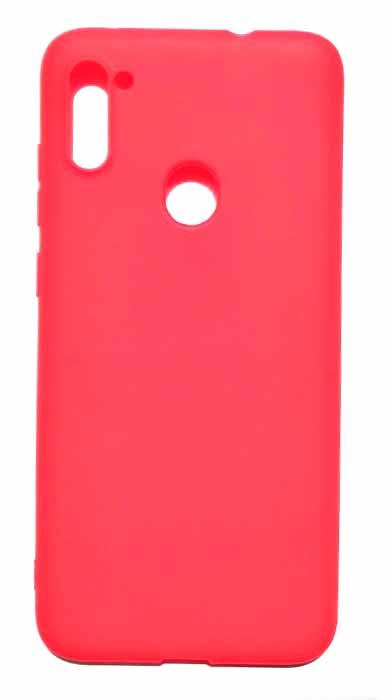 Чехол - накладка для Samsung A11 / M11 силикон Red