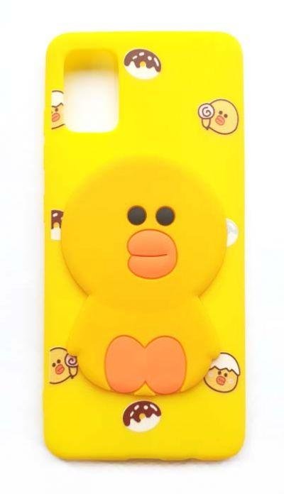 Чехол - накладка для Samsung A51 силикон Duckling
