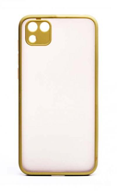 Чехол - накладка для Honor 9S / Huawei Y5P пластик Matt TPU Green