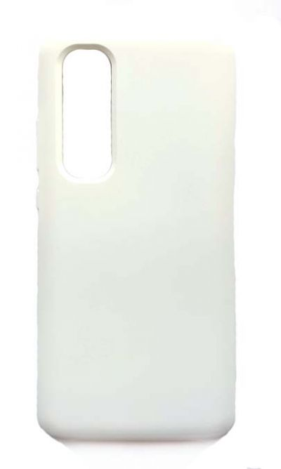 Чехол - накладка для Xiaomi Mi Note 10 Lite Silicone Cover White
