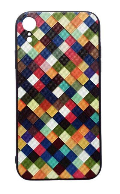 Чехол - накладка для iPhone XR силикон Mosaic Fhorme