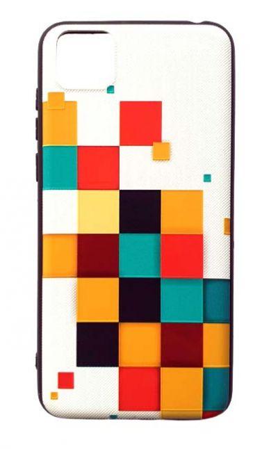 Чехол - накладка для Honor 9S / Huawei Y5P силикон Colored Cubs Fhorme