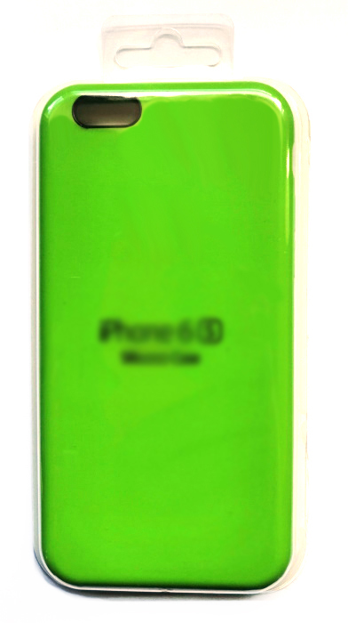 Чехол - накладка для iPhone 6 / 6S Silicone Case Lime