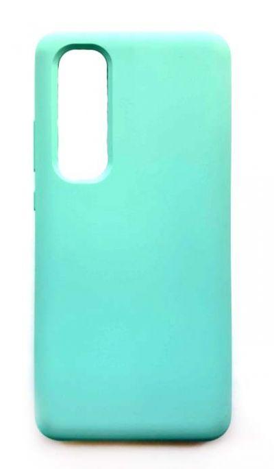 Чехол - накладка для Xiaomi Mi Note 10 Lite Silicone Cover Mint