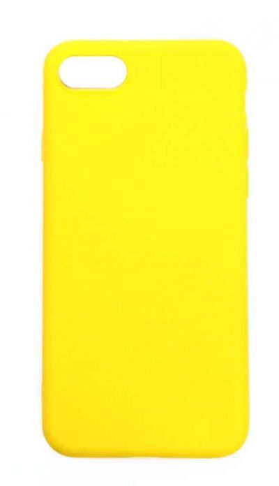 Чехол - накладка для iPhone 7 / 8 / SE 2020 силикон Yellow
