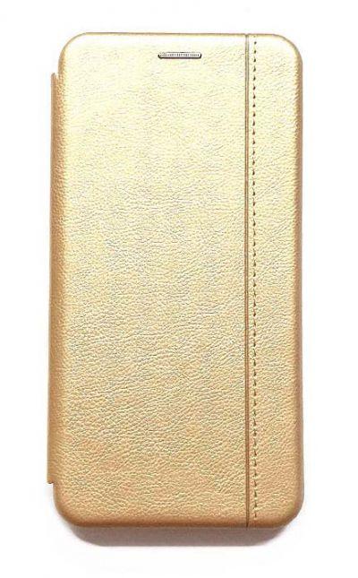 Чехол - книжка для iPhone 5 / 5S / SE полиуретан Fashion Case Gold