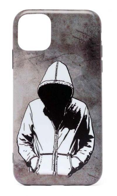 Чехол - накладка для iPhone 11 силикон Sad Man