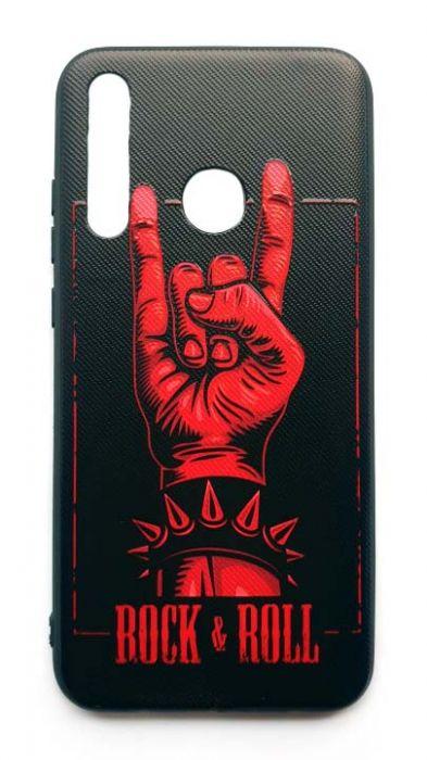 Чехол - накладка для Honor 10i силикон Rock & Roll