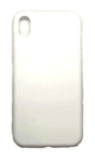 Чехол - накладка для iPhone XR силикон White