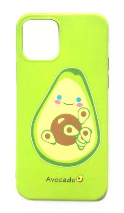 Чехол - накладка для iPhone 12 Pro Max силикон Avocado №2