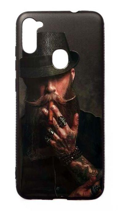 Чехол - накладка для Samsung A11 / M11 силикон Hipster №2
