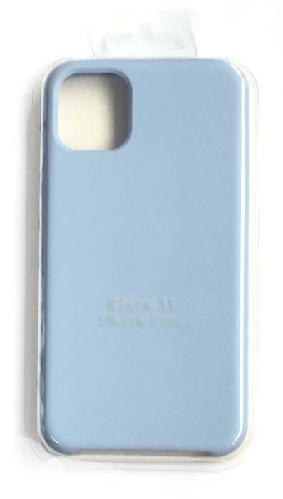 Чехол - накладка для iPhone 11 Silicone Case Sky Blue