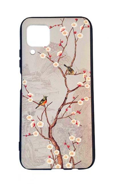 Чехол - накладка для Huawei P40 Lite силикон Birds