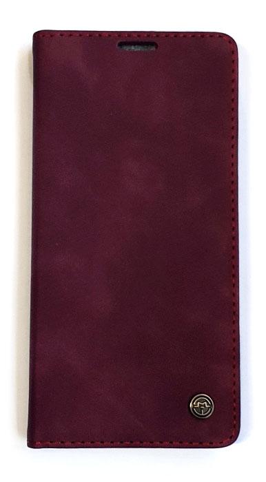 Чехол - книжка для Samsung A21s полиуретан CaseMe Burbon