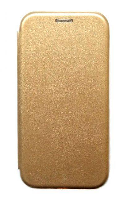 Чехол - книжка для Honor 9C / Huawei 40 Lite E полиуретан Gold