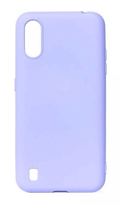 Чехол - накладка для Samsung A01 / M01 силикон Activ Full Violet